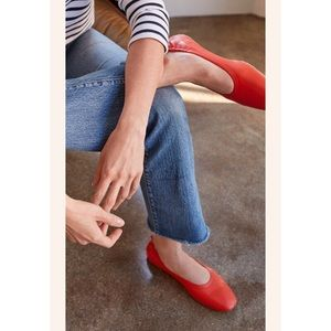 Everlane Day Red Flats